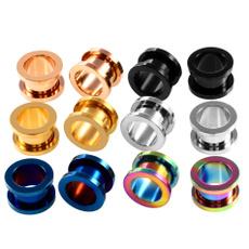 Steel, earplug, Jewelry, earexpander
