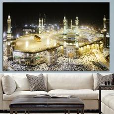 oilpaintingpint, mecca, canvasposter, walldecoration
