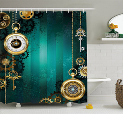 Antique, Shower, Bathroom, fashionshowercurtain
