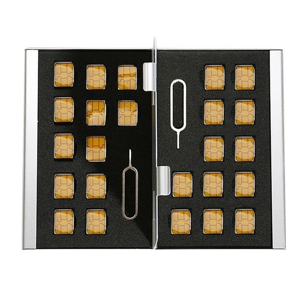 Box, case, memorycardreader, simcardreader