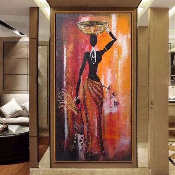 womanpainting, art, figureoilpainting, vertical