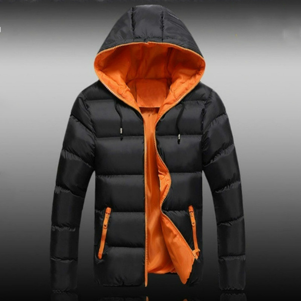 Jacket, hooded, Winter, Cotton-padded clothes