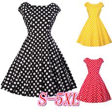 Swing dress, Pins, long dress, Spring
