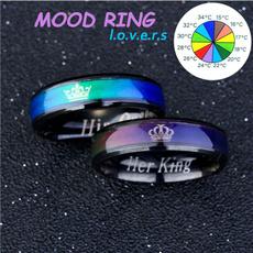 Couple Rings, Steel, Jewelry, crownring