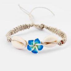 shellcharmbracelet, Fashion, Jewelry, Hawaiian