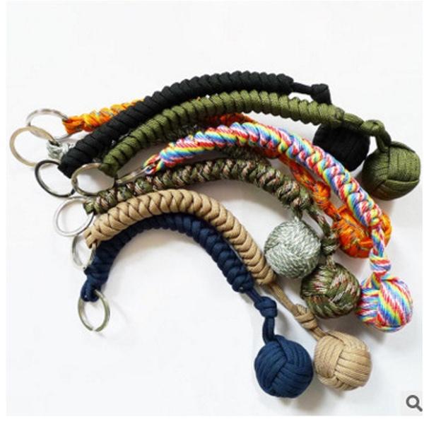 Steel, Key Chain, monkeyfist, stainlesssteelball