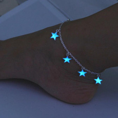 cute, Tassels, Star, Anklets