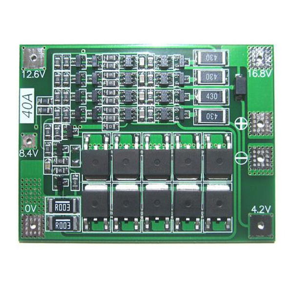 4S 40A 18650 Li-ion Lithium Battery Charger BMS Protection Board Balanced Module