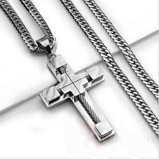 cubanchainnecklace, Steel, Chain Necklace, hip hop jewelry
