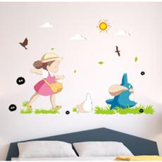 PVC wall stickers, My neighbor totoro, Bathroom, bedroomwalldecal