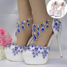 Blues, highplatformsandal, Sandals, Women Sandals