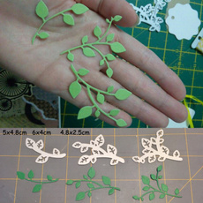 decoration, stencil, Scrapbooking, leaves