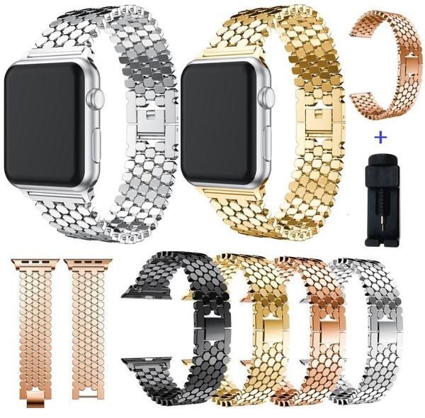 applewatchband40mm, Steel, applewatchband44mm, Apple