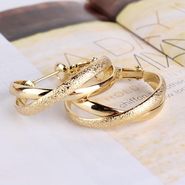 goldplated, Fashion, Dangle Earring, Jewelry