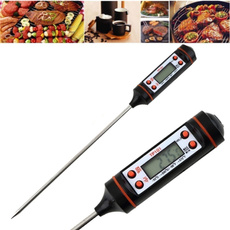 probethermometer, Meat, Cooking, kitchenampdining