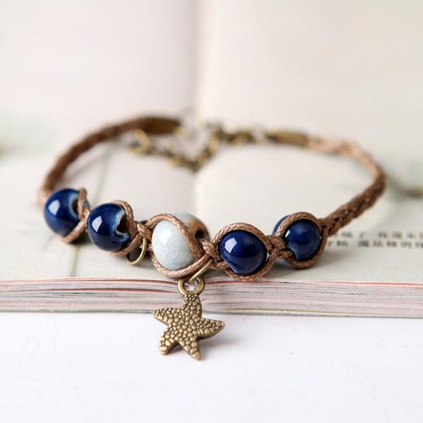 Fashion, rope bracelet, Jewelry, starfish