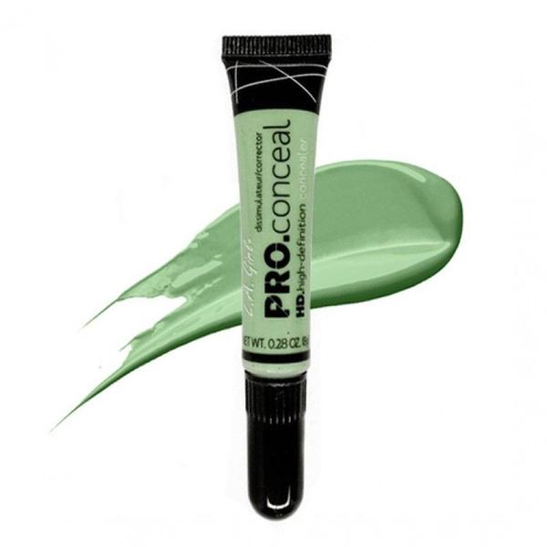 LA Girl HD Pro Concealer - Green Corrector   Wish