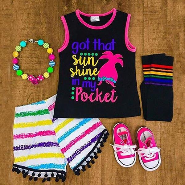 Women's Fashion, Summer, Vest, Shorts