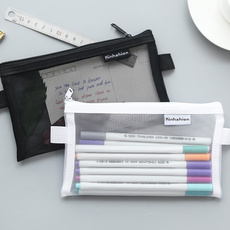 transparentgauze, pencilcase, officeampschoolsupplie, Makeup bag