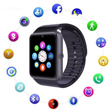 Waterproof Watch, Watch, wristwatch, watchphoneblue
