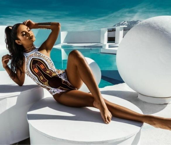 bathing suit, Fashion, onepiece, bandage bikini