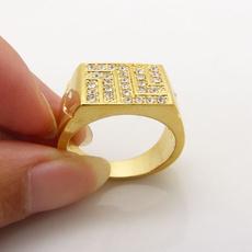 yellow gold, Jewelry, Mens Accessories, geometricpattern