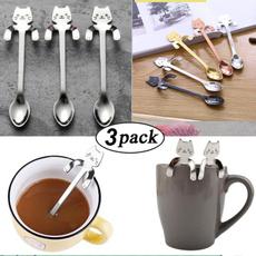 Steel, cartoonspoon, Coffee, Kitchen Tools & Gadgets