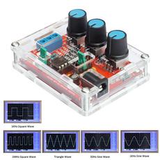 adjustablefrequency, functiongenerator, sinetrianglesquare, signal