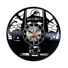 Decor, wallclockslarge, Clock, vinylclockled