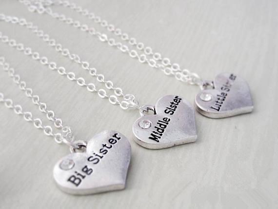 Heart, triplet, inspired, Handmade