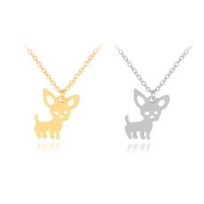cute, Chain Necklace, Fashion, silhouette