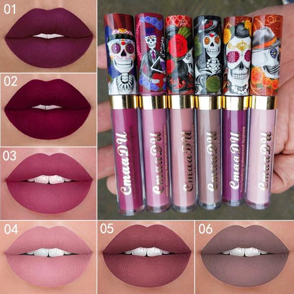 liquidlipstick, Lipstick, skull, Waterproof