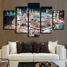 oilpaintingpint, mecca, Canvas, architecture