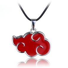 Necklace, akatsuki, narutonecklace, Chain