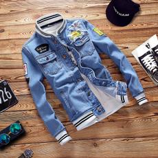 Jeans, Fashion, korean style, denim jacket