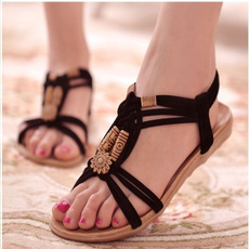 beach shoes, Flip Flops, Sandalias, crosssandal