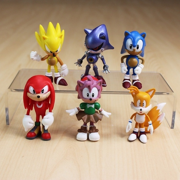 sonic, Toy, figure, Characters