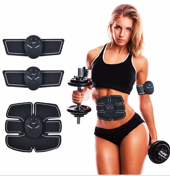 1xAbs Stimulator Muscle Toner Muscle Trainer Abdominal Toning Belt for Men Women