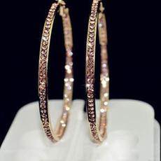 Hoop Earring, Silver Earrings, gold, gold hoop earrings