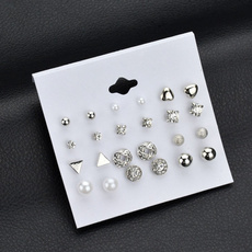 Fashion, Jewelry, pearls, Exquisite Earrings