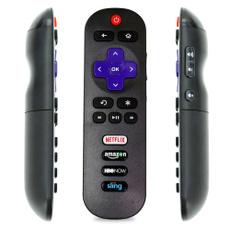 TV, rokutvwithnetflixamazonhbonowsling, tclrokutvremotecontrol, Keys