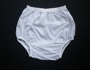 plasticpant, adultbabypant, adultincontinencepant, white