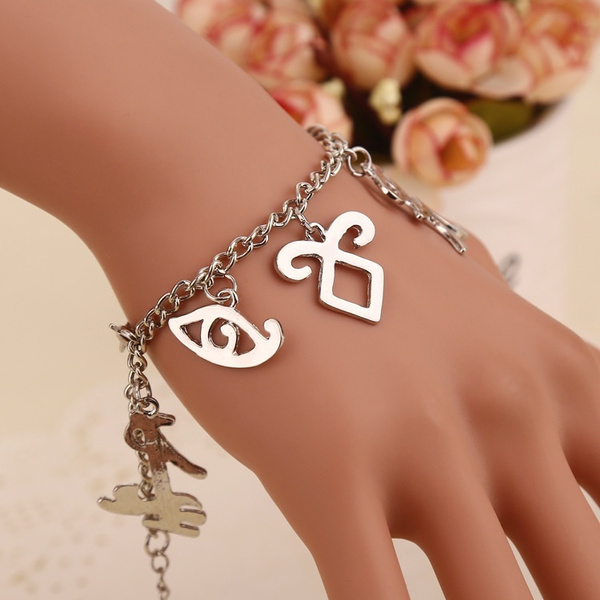 angelic, Wristbands, Chain, Bracelet Charm