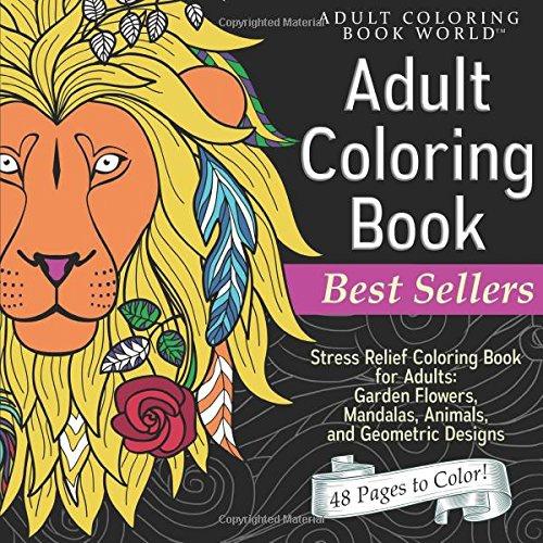 coloring, Garden, Adult, Flowers