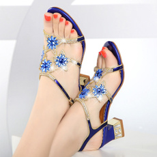 Summer, waterdrill, Sandals, Jewelry