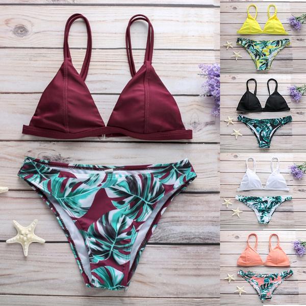 bathing suit, Fashion, leaf, Summer