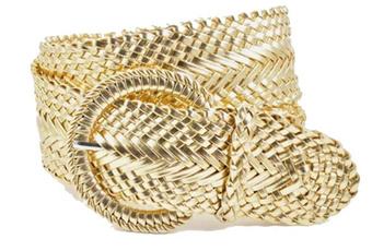 Fashion Accessory, Fashion, Jewelry, genuineleatherwovenbraidbelt3