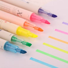 highlighterpen, cutepen, School, rainbow