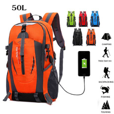 travel backpack, Shoulder Bags, Outdoor, usb