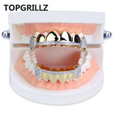 goldplated, grillz, teethcap, hip hop jewelry